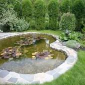 Садовые пластиковые пруды