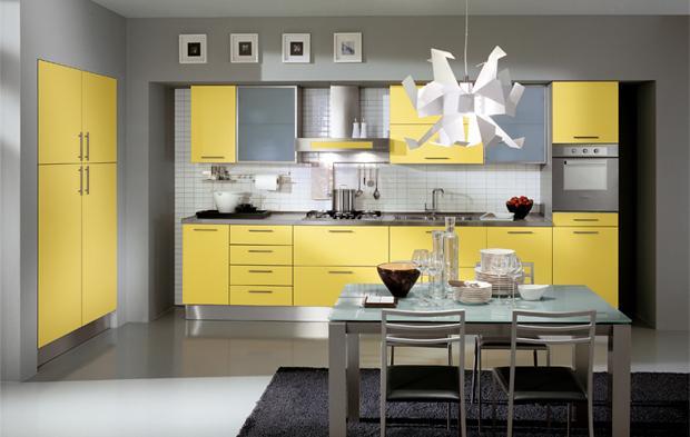 Дизайн хайтека кухни