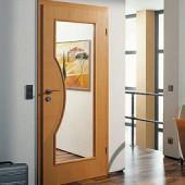Межкомнатные двери из натурального шпона