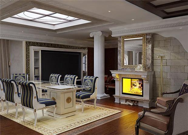 Античный стиль в интерьере прекрасно дополнит соответствующий декор...