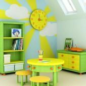Цвет в интерьере детской