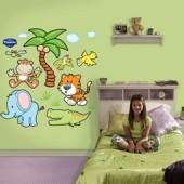 Наклейки для детской комнаты