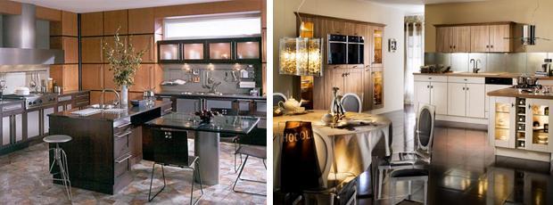 Кухни в стиле арт деко.