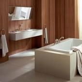 Отделка стен ванной пластиковыми панелями