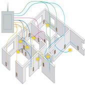 Схемы разводки электрики