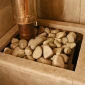 Банная печь каменка