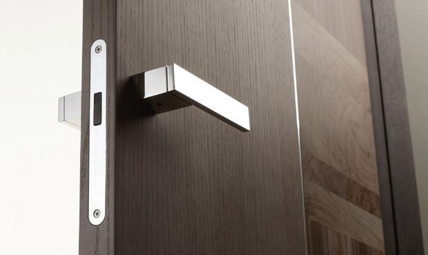 Магнитные замки для межкомнатных дверей