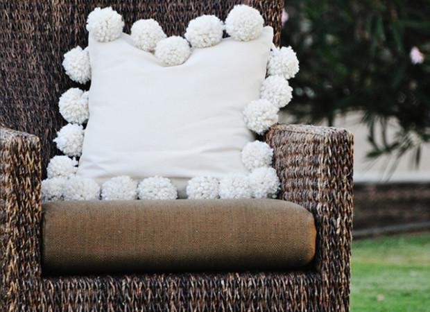 Декоративная подушка - мастер класс