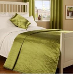 Комплект для спальни покрывало и шторы