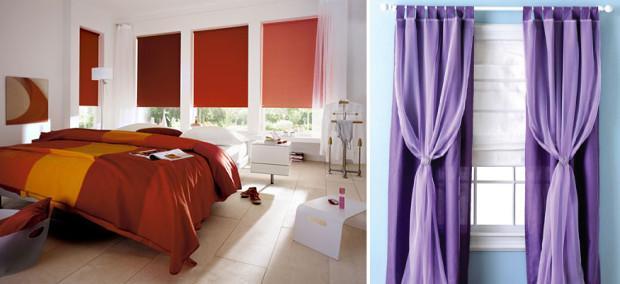 Красивые шторы для спальни