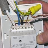 Подключение терморегулятора теплого пола