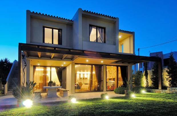 Освещение загородного дома