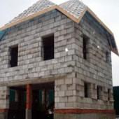 Загородные дома из пеноблоков