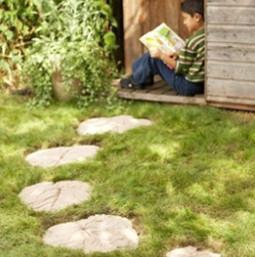 Декоративная дорожка для сада