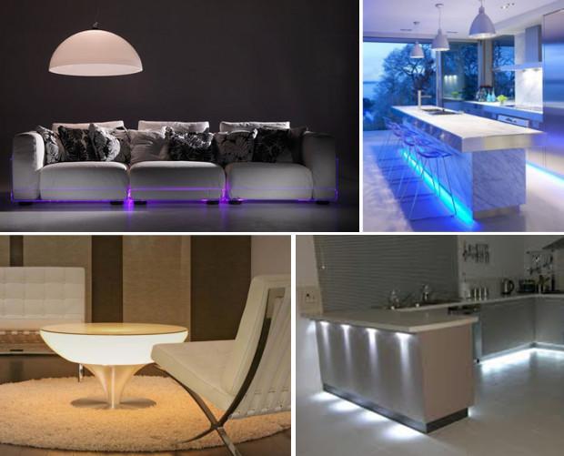 Светодиодная подсветка мебели